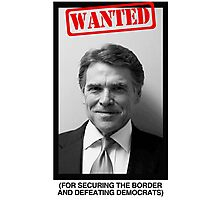 RICK PERRY MUG SHOT Photographic Print