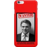 RICK PERRY MUG SHOT iPhone Case/Skin