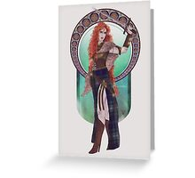 Boudicca (Badass Women of History Collection) Greeting Card