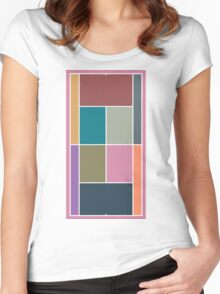 Court Pantone 2015 Women's Fitted Scoop T-Shirt
