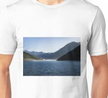 Where Sea and Mountains Meet Unisex T-Shirt