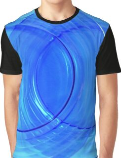 Collectible Blue Glass Abstract Graphic T-Shirt