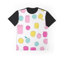 Apple jam and fruits seamless pattern Graphic T-Shirt