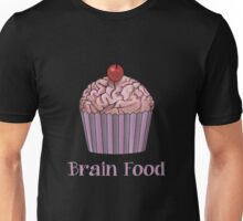 Brain Food Zombie Cupcake Unisex T-Shirt
