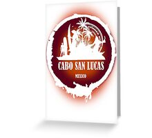 Cabo San Lucas Sunset Greeting Card