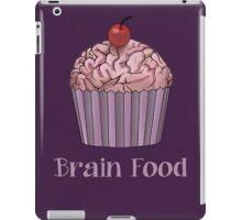 Brain Food Zombie Cupcake iPad Case/Skin