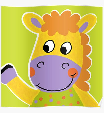Farm Animals - Horse Poster