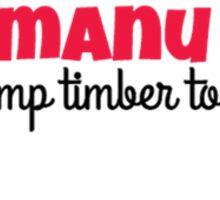Tamanu '16 Sticker Sticker