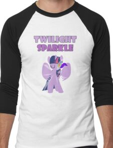 Dark Twilight Sparkle Men's Baseball ¾ T-Shirt