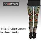"""Magical Carpet"" Leggings by Susan Werby"