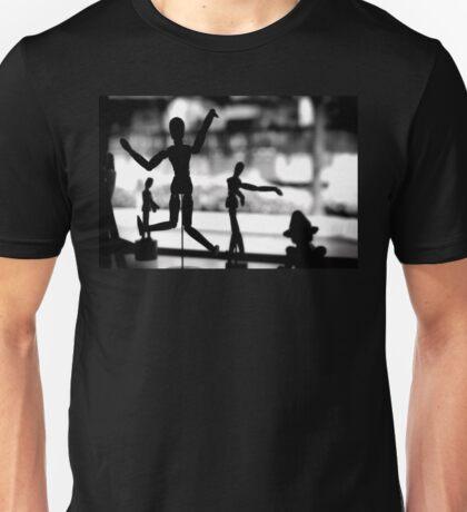 Wooden Puppet Unisex T-Shirt