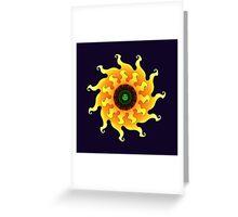 Flamengo Sun Greeting Card