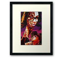 Kandi Darling Metamorphosis in Sharpie Framed Print