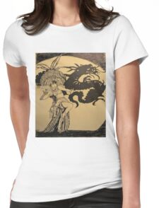 MOVIE STARS ANNA MAY WONG Womens Fitted T-Shirt