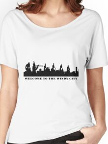 welcome to the windy city Women's Relaxed Fit T-Shirt
