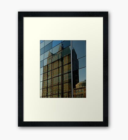 Reflection of Providence Framed Print