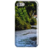 House on Margaree River iPhone Case/Skin