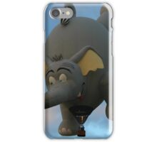 Can elephants fly? iPhone Case/Skin