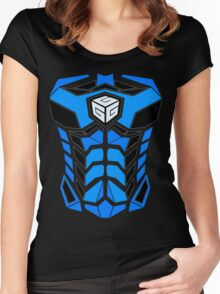 GadgetTribe Armor Women's Fitted Scoop T-Shirt