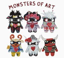 Monsters of Art Kids Clothes