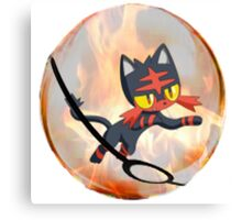Litten Canvas Print