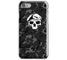 Camo Special Force Skull iPhone Case/Skin