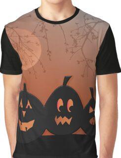 Halloween Pumpkins Graphic T-Shirt