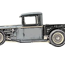 1932 Ford Custom Pickup Truck - RatRod by surgedesigns