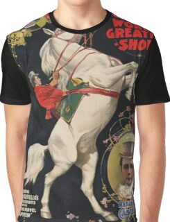 Vintage poster - Circus Graphic T-Shirt