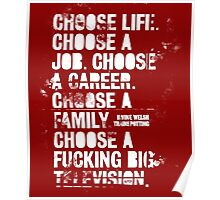 Choose Life..! Poster