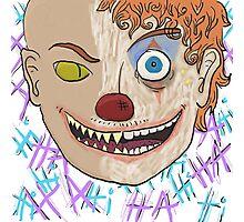 Clown pas bien Photographic Print