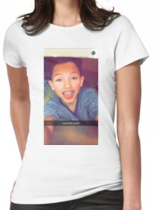 Jacob Sartorius baby gurllll Womens Fitted T-Shirt
