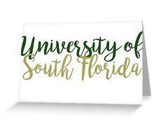 University of South Florida Greeting Card