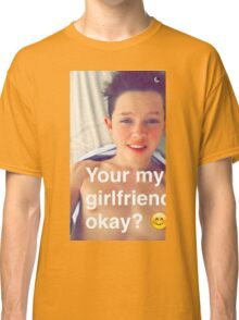 Jacob Sartorius you're my girlfriend Classic T-Shirt