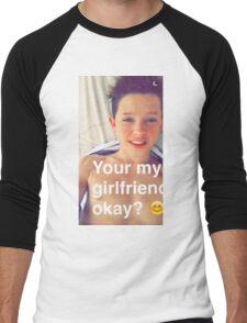 Jacob Sartorius you're my girlfriend Men's Baseball ¾ T-Shirt