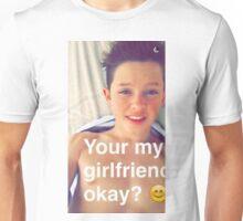 Jacob Sartorius you're my girlfriend Unisex T-Shirt