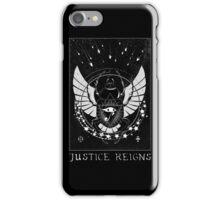 Pharah Justice Reigns Tarot Card iPhone Case/Skin