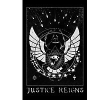 Pharah Justice Reigns Tarot Card Photographic Print