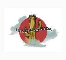 I LIVE IN CANADA Kids Tee