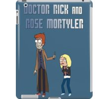 Doctor Rick and Rose Mortyler iPad Case/Skin