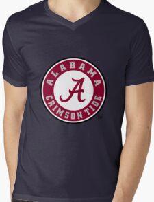 ALAbama logo Mens V-Neck T-Shirt