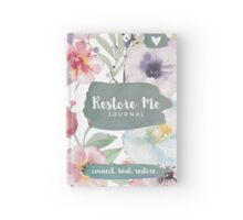 The Restore Me Journal Hardcover Journal