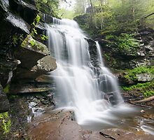 Ricketts Glen by jswolfphoto