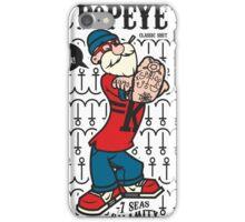 popeye  iPhone Case/Skin