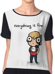 Everything is Fine Chiffon Top