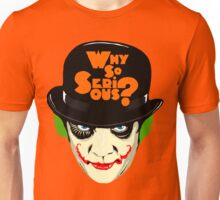 A Clockwork Clown - Serious Droog Unisex T-Shirt
