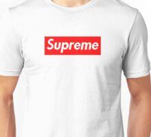 Supreme | Box Logo | White Background | HIGH QUALITY! Unisex T-Shirt