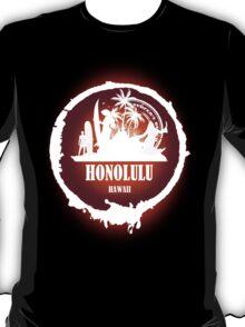 Summer Day At The beach Honolulu T-Shirt