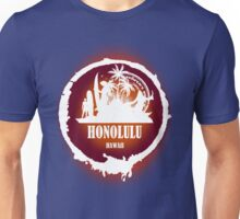Summer Day At The beach Honolulu Unisex T-Shirt