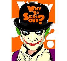 A Clockwork Clown - Serious Droog Photographic Print